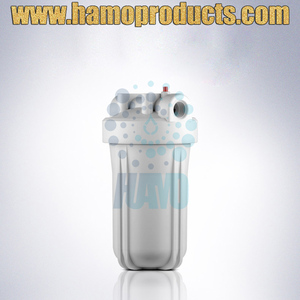 High Flow Plastic Clear Water Filter Housing for Drinking Water