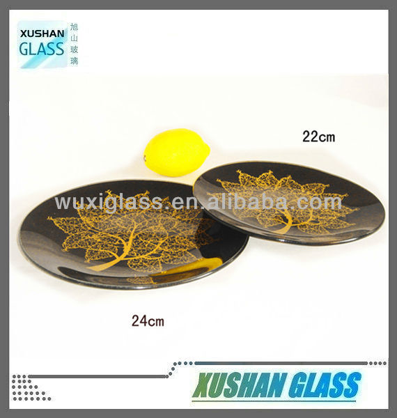 Tempered glass plate for decoupage- factory supplied - 24x24cm & 22x22cm