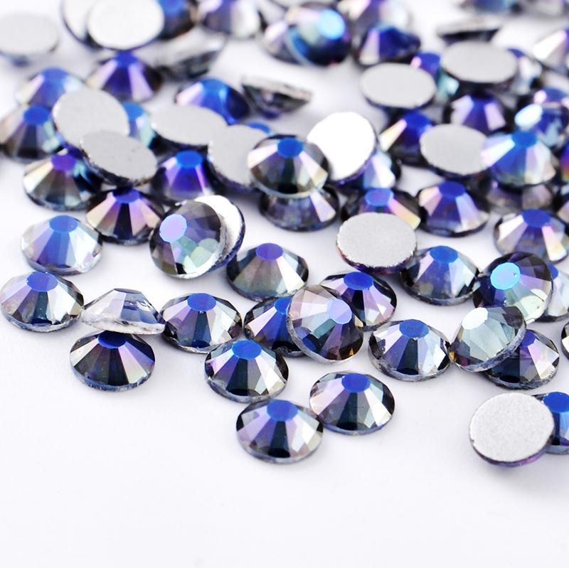 Fashion fantastic nail beauty products crystal flatback rhinestone beads for nail art ss16 wholesale, Customized