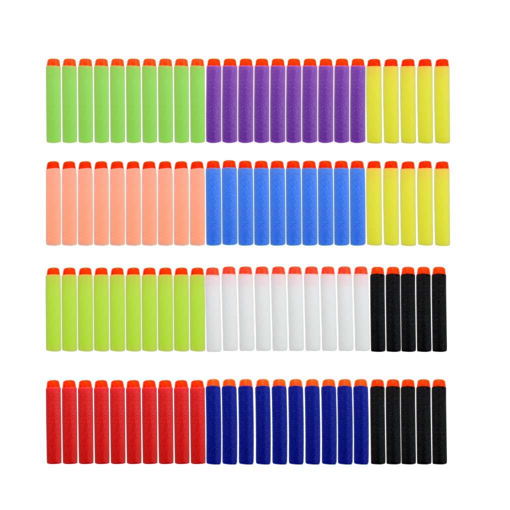 7.2cm Refill Bullet Darts for Blasters Kid Toy Gun 10 colors in one package China Professional Bullet Darts