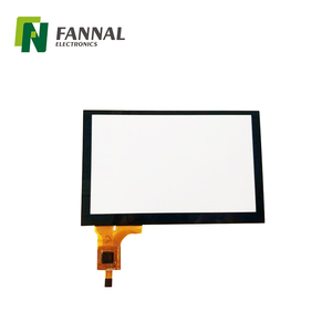 Customized glass+glass 10 touch 10.1 inch thin usb lcd touch screen