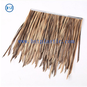 Eco-friendly plastic artificial thatch/Anti-ultraviolet thatched roof