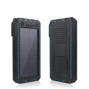 Compatible 5V Digital Device Solar Power Bank 12000mAh Solar Charger