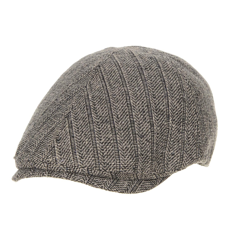 Get Quotations · WITHMOONS Flat Cap Wool Herringbone Vintage Newsboy Ivy Hat  SL3464 ed46d31b8e93