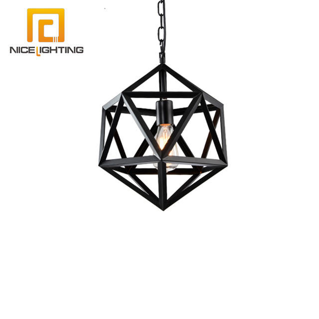 Buy cheap china black chandelier pendant light products find china nice lighting e27 pendant light american style metal black industrial retro led classic antique chandelier aloadofball Image collections