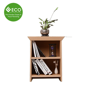 Point of Sale Cardboard Two Tiers Cabinet For Display From China Supplier