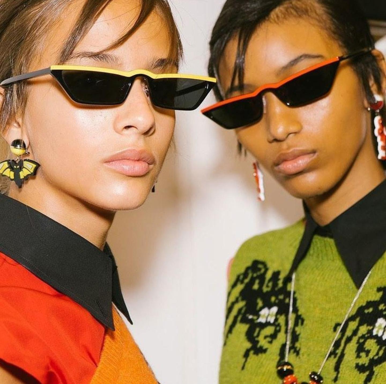 Newest Retro Women Sunglasses 2019 Vintage Fashion Small Cool Frame Sun glasses Sunglasses, N/a