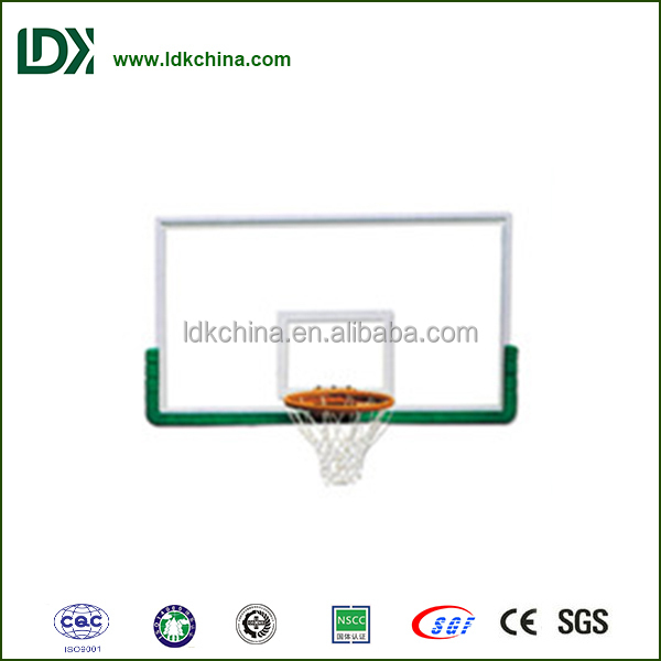 Tempered Glass Basketball Backboard for competition