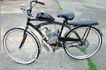 Motorized Bicycle Kit Gas Engine Cnv 66cc/motorised Bicycle Engine ...