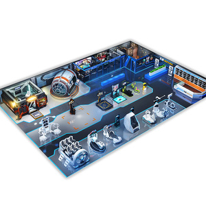 Guangzhou VR Indoor Game Zone Arcade Games Manufacturer Play zone vr 9d Virtual Reality Cinema VR Theme Park