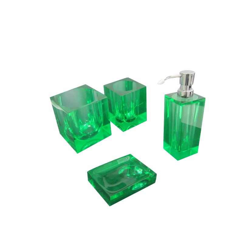 Customer Gl Bathroom Accessories Set