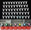 Display Clips for Nail Polish color display nail art tool nail tips manicure salon supply ring bottle top chart