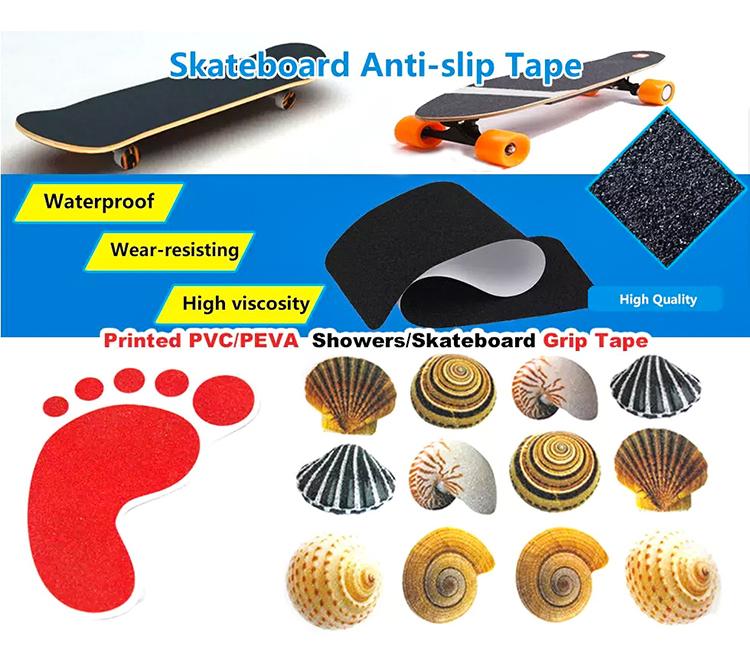 Free Samples SGS / BSCI Wholesale Gold Suppliers Waterproof Skateboard Custom Anti-slip griptape