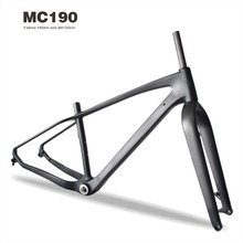"Miracle Bikes MC190 Chinese 2016 Pro Carbon Fat Bike Frame,26er*4.8"" Full Carbon Frame"