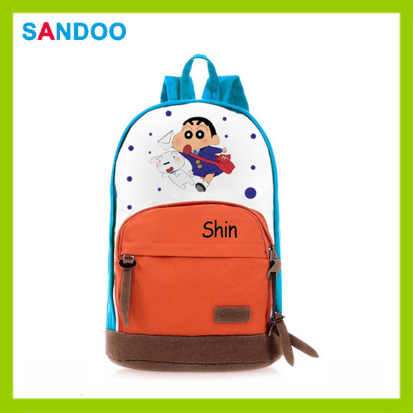 China Alibaba New Product Cartoon Schoolbag Crayon Shin-chan ...