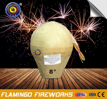 "Free sample 8"" Display Shell spanish fireworks"