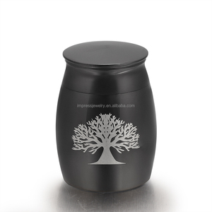 IJU009 Tree of life American Indian cremation jewelry cremation cans memory  jar