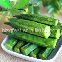 VF dried okra crisp with nice taste and excellent for sale