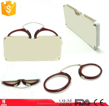 397a958145b Wholesale 2017 Fashion Small Mini Reading Glasses Without Arms - Buy ...