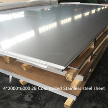 Cold/hot rolled 2B/NO.1/BA/mirror SS 310 AISI standard stainless steel sheet