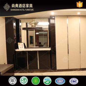 New Model Whole Hotel Mini Bar Counter Cabinet With Wardrobe