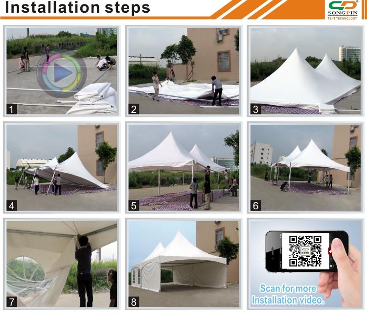 6x9m waterproof outdoor event pyramid custom big lots canopy tent & 6x9m Waterproof Outdoor Event Pyramid Custom Big Lots Canopy Tent ...