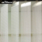 Anodized aluminum chain link Curtain /vertical blinds