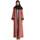 7113#High quality 2018 new model abaya in dubai fashion Muslim women islamic kaftan abaya turkey coat open kimono dresses