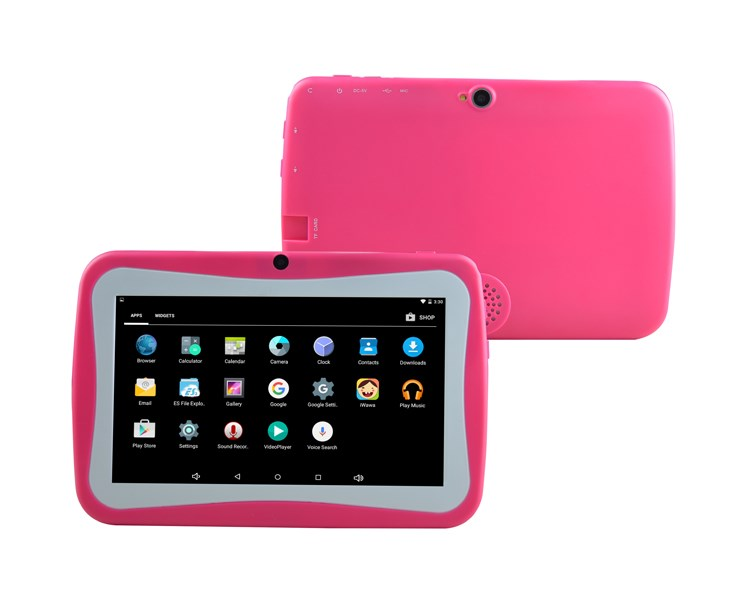 Promotion Birthday Gift Popular 7 inch Kids TAB tablet Children Games Tablet PC A33 QualCore PAD Android 4.4