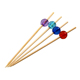 Wholesale plastic/wooden heads fruit skewers for cocktail party