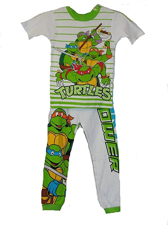 7377cfc810 Get Quotations · Nickelodeon (2-Pair) Teenage Mutant Ninja Turtles Boys  4-Piece Pajama Sets