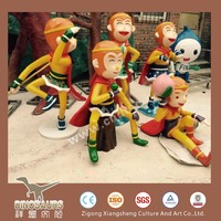 Fiberglass Decorative Customized Cartoon Model Products