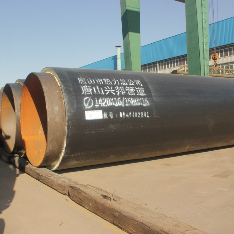 6mm pipe insulation building underground direct buried thermal pre insulation pipe