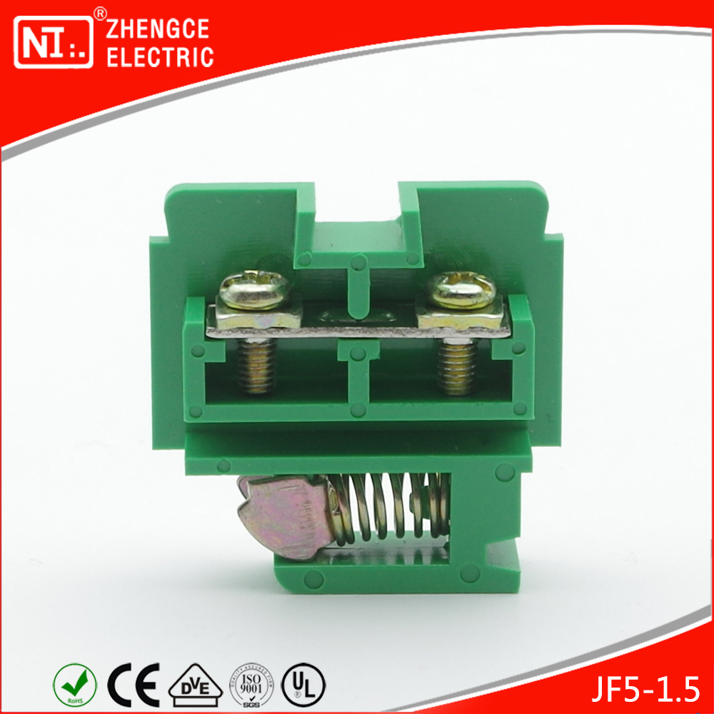JF5 - 1.5 / 1P Plate Screw Connector Terminal With M3 660V 10A