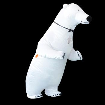 funny lovely Inflatable Polar Bear Costume for kids and adults & Funny Lovely Inflatable Polar Bear Costume For Kids And Adults - Buy ...