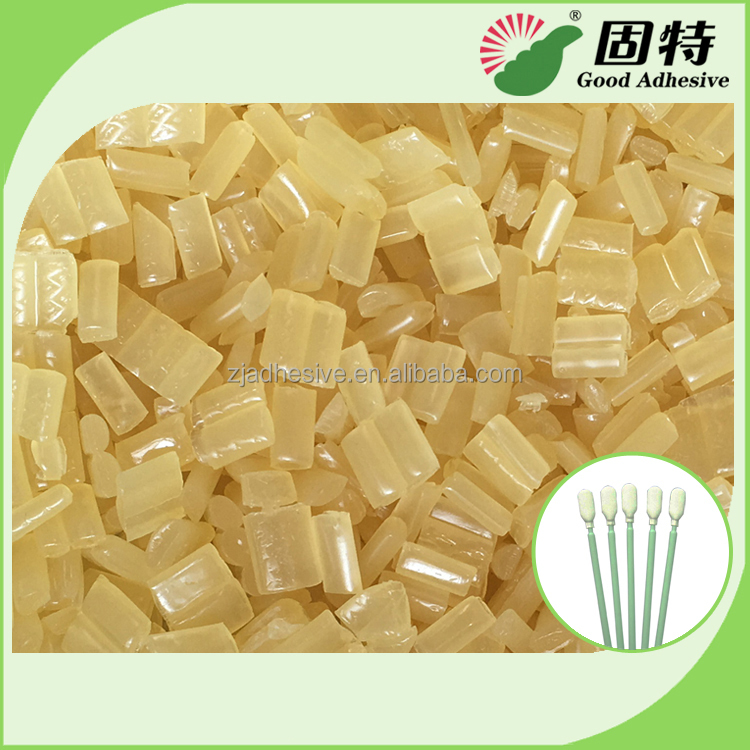 Medical Glue for Disposable Cleaning Cotton Swab,Medical plastic stick cotton