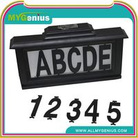 House numbers light ,H0T3q2 solar led address numbers light