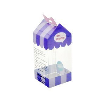 Clear Hard Cheap Plastic Retail Lock Box PVC Blister Packaging Box