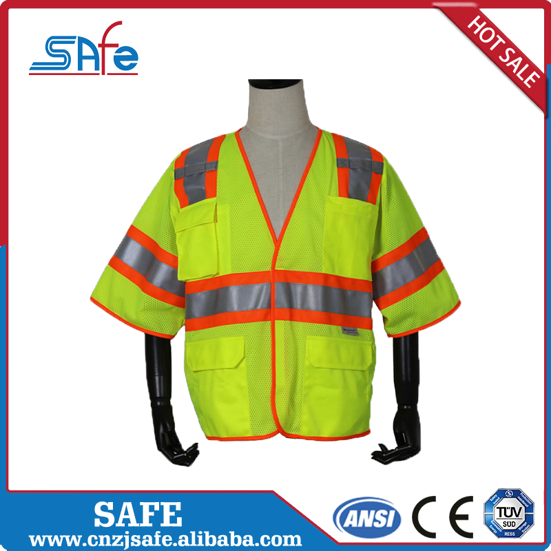 safety reflective t shirt polo Road Safety