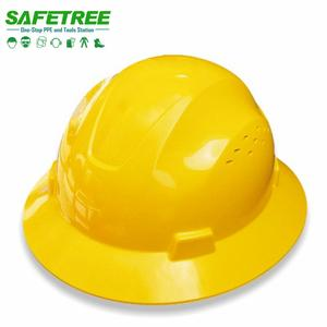 ANSI Z89.1 Type I Class C Full Brim Safety Helmet Safety Full Brim Hard Hat