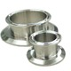 "sanitary stainless steel triclamp pipe end cap with reducer 4""X1.5"" for BHO closed loop extractor"