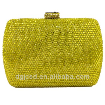 2017 Luxury Whole Hotfix Crystal Evening Clutch Party Bag Designer