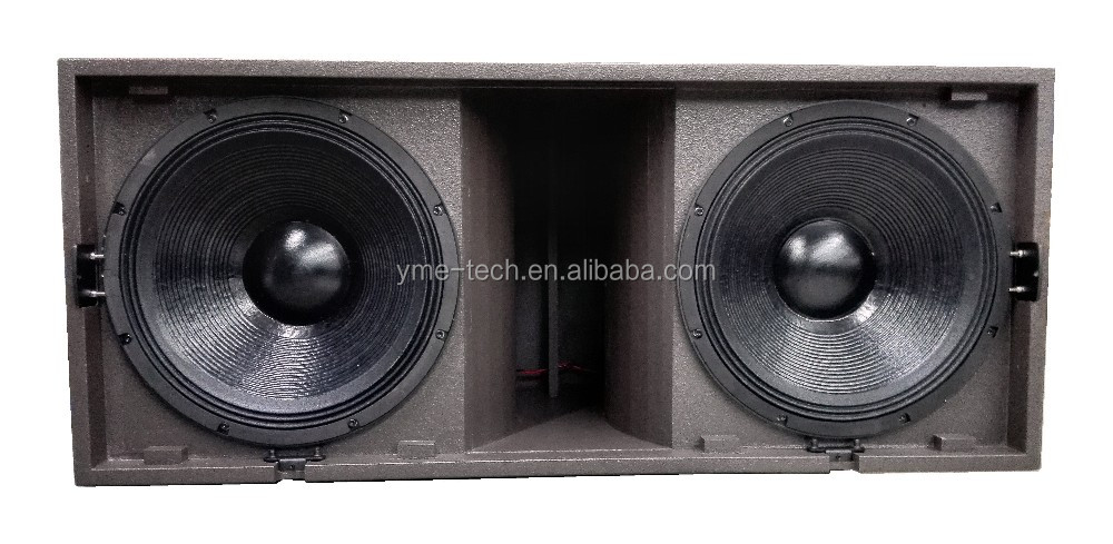 L218 Dual 18 Inch 1200w Rms High Power Sub Woofer For Pro Audio ...