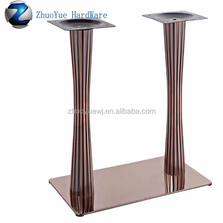 for item room like table metal base this designs dining steel legs only elegant pedestal