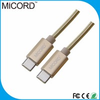 Metal Head Usb 3.1 Type C To Type C Cable,C-Type Cable For Media/Phone/Camera