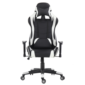 Gaming Office Chair Game Racing Ergonomic Backrest And Seat Height  Adjustment Computer Chair With Pillows Recliner