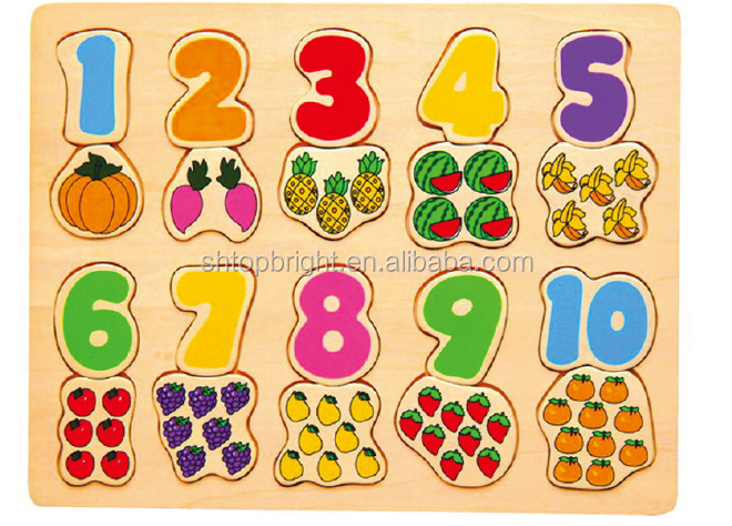 Oem Colorful Magnetic Board Wooden Learning Arabic
