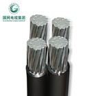 power transmission line 1kv 3*120+1*70 xlpe insulation abc cable with ce ccc certificate