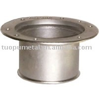 Stainless Steel Deck Plate Hose Adapter