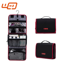 Wholesale Folding Cosmetic travel Organizer electronics organizer Hanging Travel Toiletry Bag